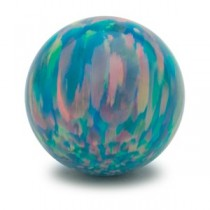 Blue Fire Opal Gem Marble