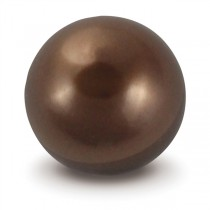 Chocolate Faux Pearl Gem Marble