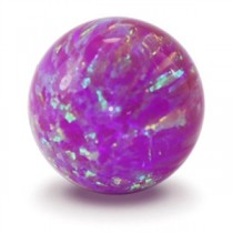 Purple Opal Gem Marble